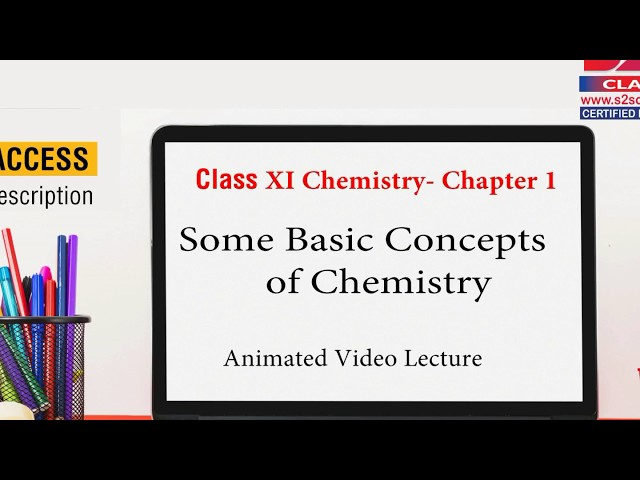 Class 11 Chemistry Chapter 1 | Some Basic Concepts of Chemistry