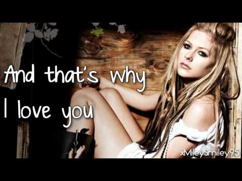 Avril Lavigne - I Love You (with lyrics)