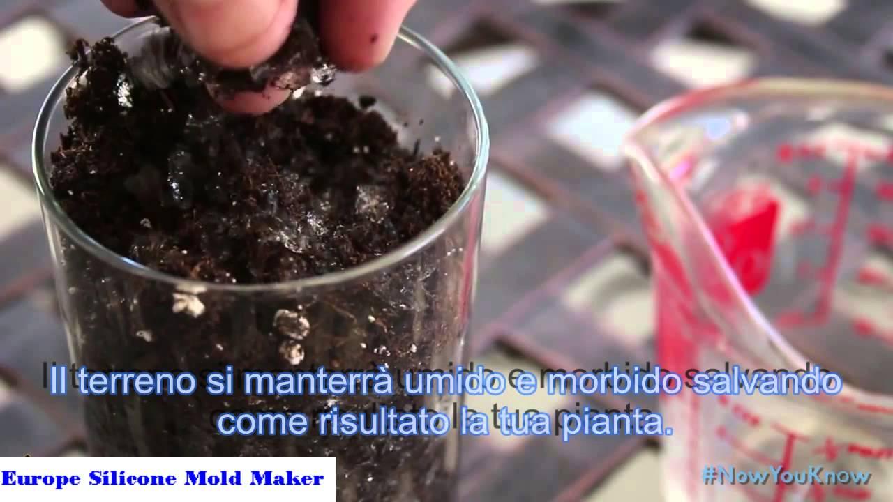 Come creare la super terra con l idrogel sap fiori e piante