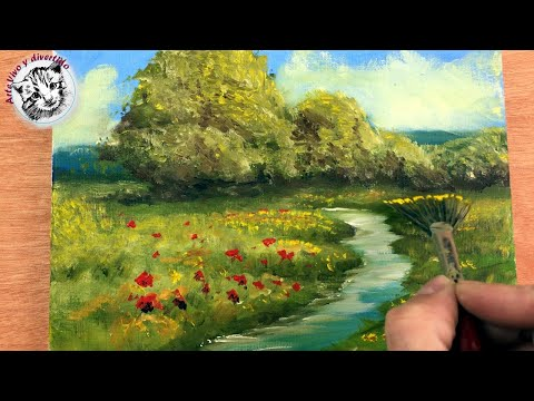 oil-painting-for-beginners-1-basic-materials-and-how-to-paint-an-easy-landscape