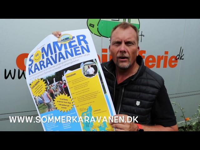 Sommerkaravanen kører gennem Danmark