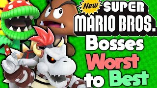 Ranking Every Boss in New Super Mario Bros