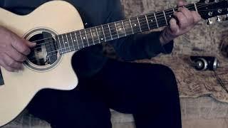 Тёмная ночь на гитаре