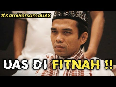 SUNGGUH KEJI !!! Pasca Dukung Prabowo, Ustadz Abdul Somad Di Fitnah Selingkuh Dan Dibayar