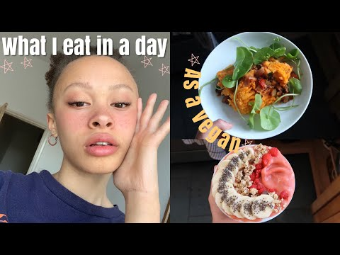 What I eat in a day | vegan teen ?