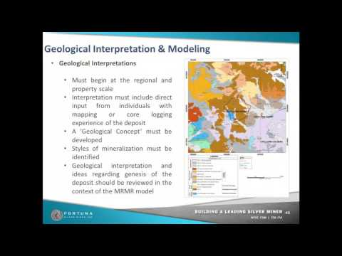 Geological intnerppretation and modeling