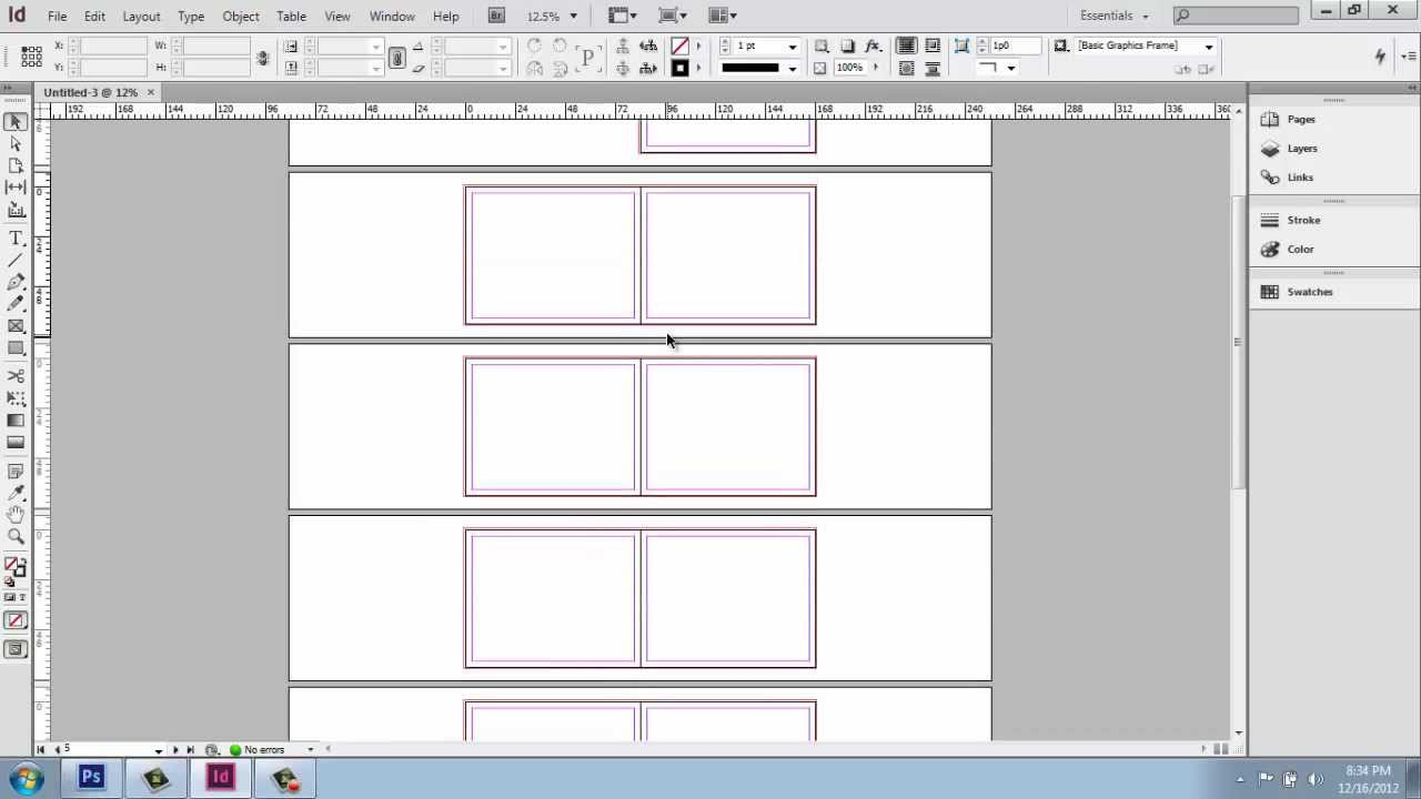 Adobe InDesign CS6   Interior Design Portfolio   Part 1   UI And New  Document   Brooke Godfrey   YouTube