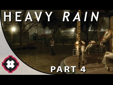 Heavy Rain Blind Let's Play Gameplay PS4 // Part 4 - Where's Shaun??