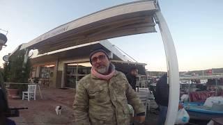 Fish Hunting Seferihisar Sigacik Bay İzmir 5 November 2017