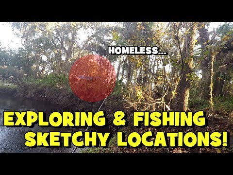 Fishing 7 SPOTS IN ONE DAY! Exploring Spots In ORLANDO...