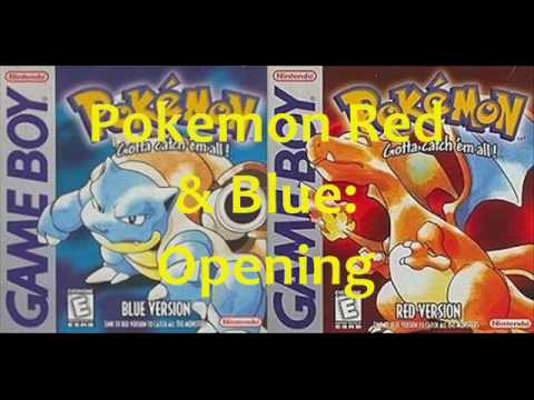 Pokémon Red & Blue Music: Opening Theme