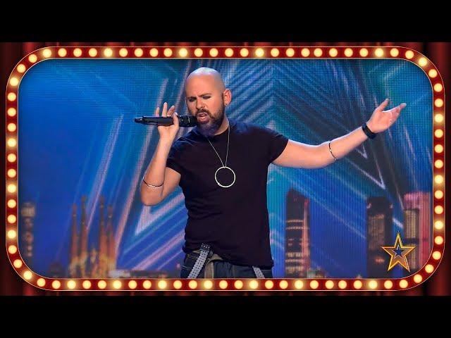 El PARECIDO de este CANTANTE con RISTO MEJIDE te sorprenderá | Inéditos | Got Talent España 2019