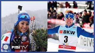 Wierer e Pellegrino: gioie da Biathlon e Fondo