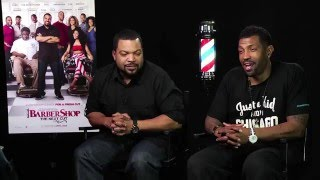 BARBERSHOP 3: THE NEXT CUT (2016) Ice Cube l Deon Cole Interview