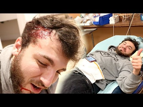 WE HAD TO TAKE HIM TO THE EMERGENCY ROOM!!