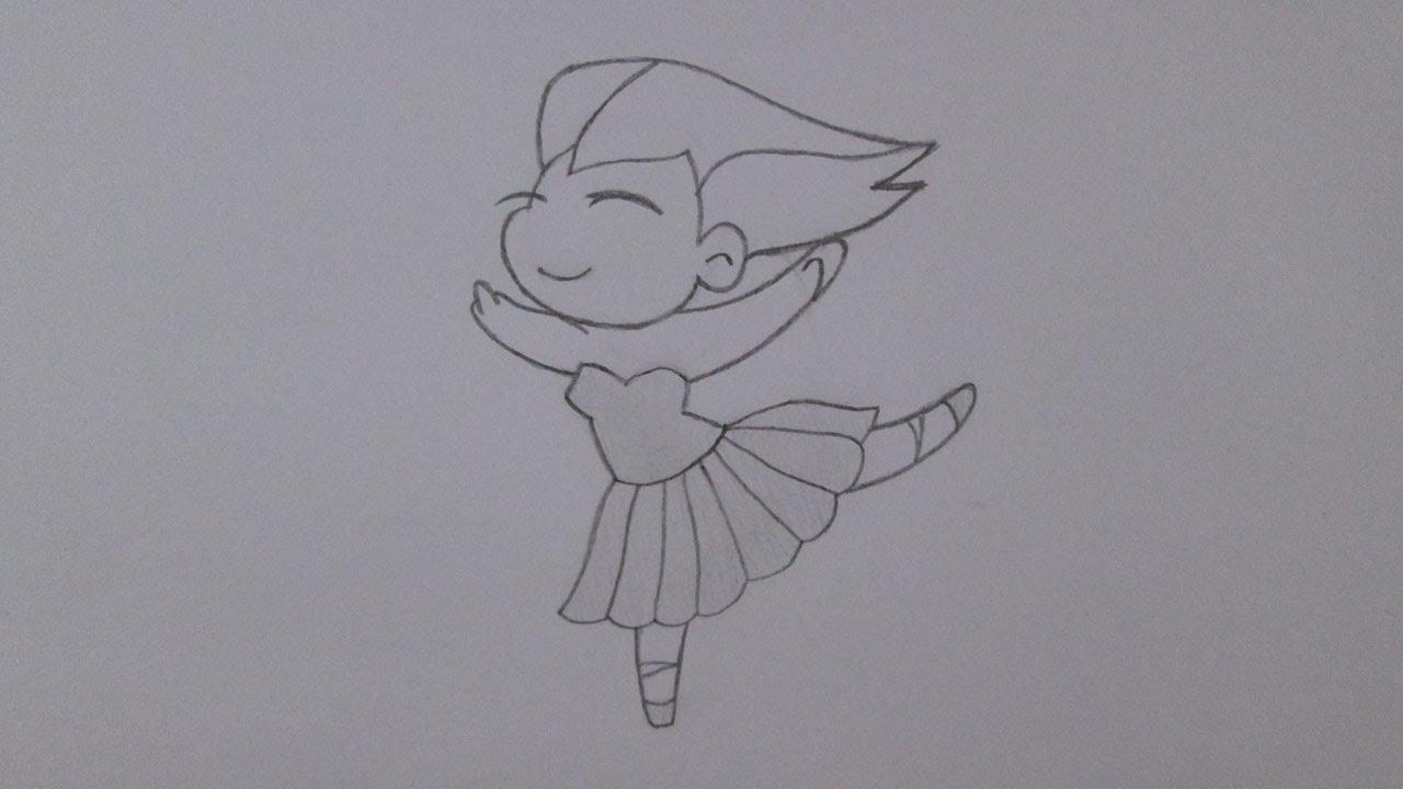 Cómo Dibujar Una Bailarina