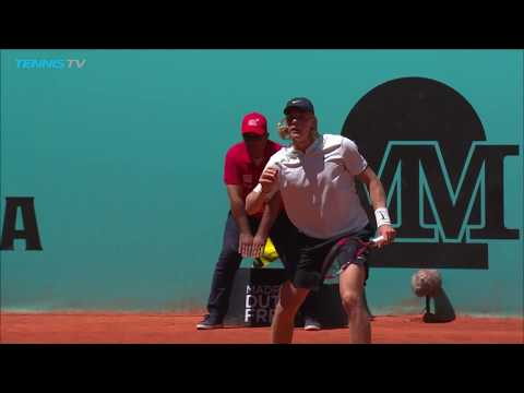 Denis Shapovalov's huge backhand winners en route to beating Raonic | Mutua Madrid Open 2018