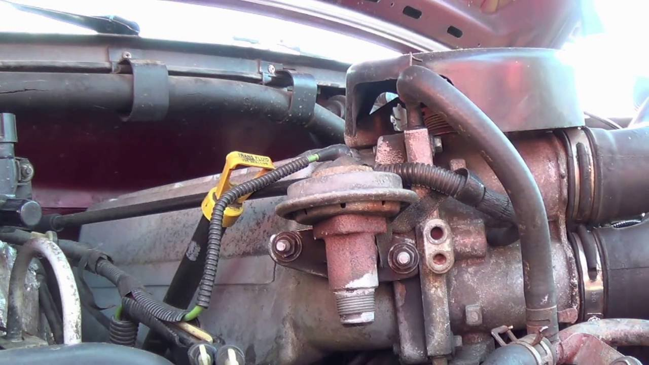 egr hose replacement