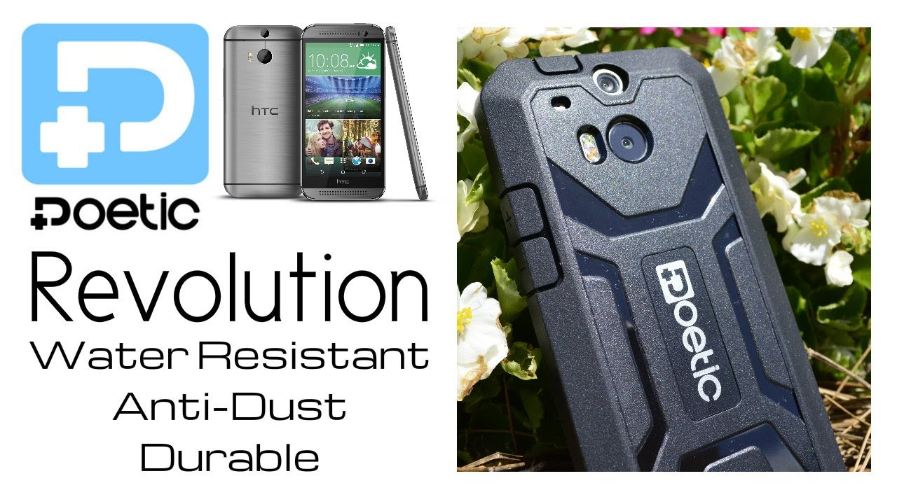 Poetic Htc One M8 Case Revolution Series Rugged Hybrid W Built In Screen Protector You