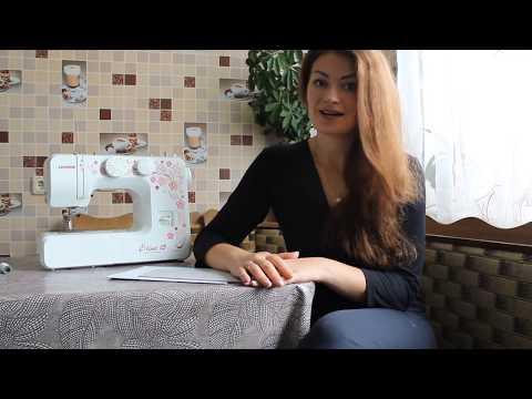 Швейная машинка для скрапбукинга Janome E-Line 15 видеообзор