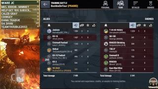 3vs3 Quick Tournament World of Tanks BLitz