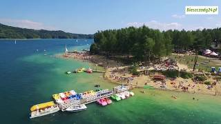SOLINA: Wkrótce jezioro znów będzie tętniło życiem... Niesamowite ujęcia z drona
