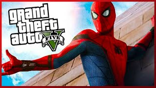 NOUL SPIDERMAN IN GTA 5 !