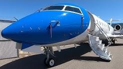 NAV Canada Bombardier CRJ-200 Flight Inspection Aircraft in 4K