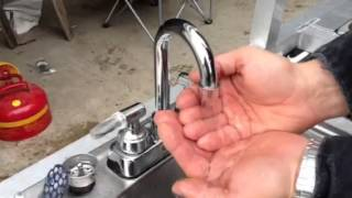 Health codes hot water