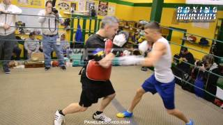 Vasyl Lomachenko TRAINING HIGHLIGHTS