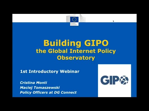 Introduction to Global Internet Policy Observatory online platform - 1st Webinar 30th April 2015