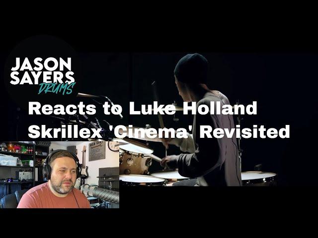 Drummer reacts to Luke Holland - Cinema - Skrillex