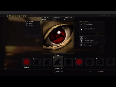 Itachi's Sharingan |Full Emblem Tutorial | Like, Comment, Subscribe.