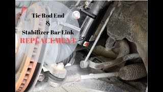 Inspira/Lancer 08 Tie Rod End and Stabilizer Bar Link replacement