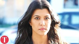 There's Something Strange Happening With Kourtney Kardashian