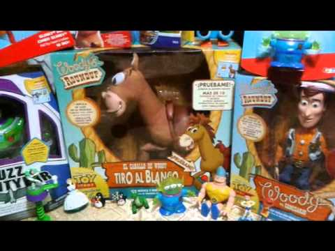 Mi Colección de Toy Story en Español - My Toy Story Collection - YouTube 6e2704b2fb2