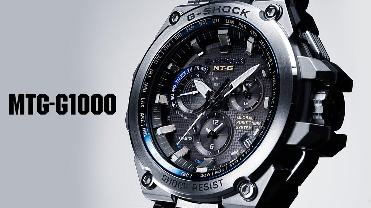 CASIO G-SHOCK MTG-G1000D - Karóra Centrum - YouTube ca0e562e59