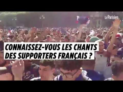 Connaissez-vous les chants des supporters français ?