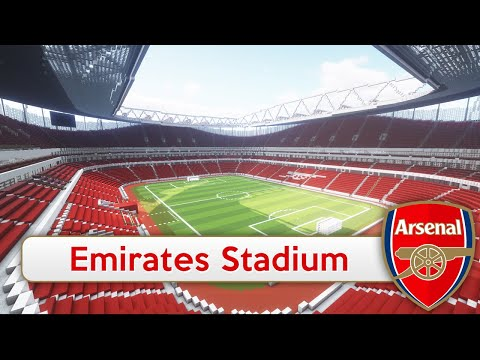 Minecraft - MEGABUILD - Emirates Stadium (Arsenal) + DOWNLOAD [Official]