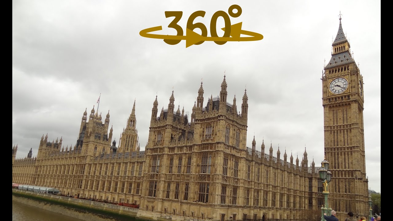 360°/ VR Video What to see in London - Big Ben