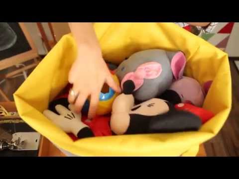 Оксана Матяш. МК мешок для игрушек