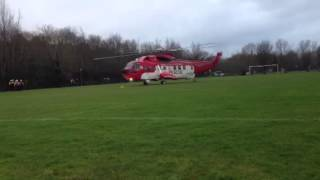 Irish coastguard helicopter Derry