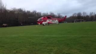 Irish coastguard helicopter Derry