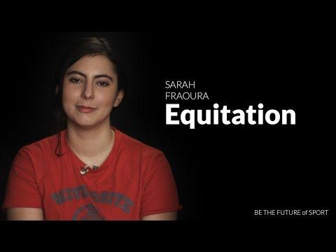#BTFSport - Sarah, championne d'Equitation