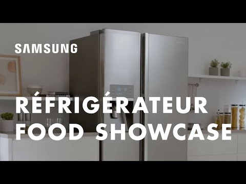 Samsung Food ShowCase™ RH9000 - Pure expérience