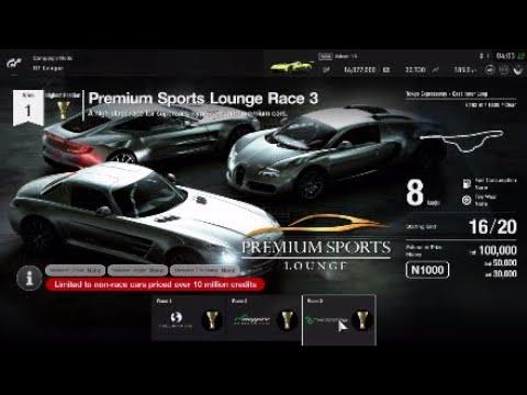 Gran Turismo Sport GT League professional Premium Sports Lounge
