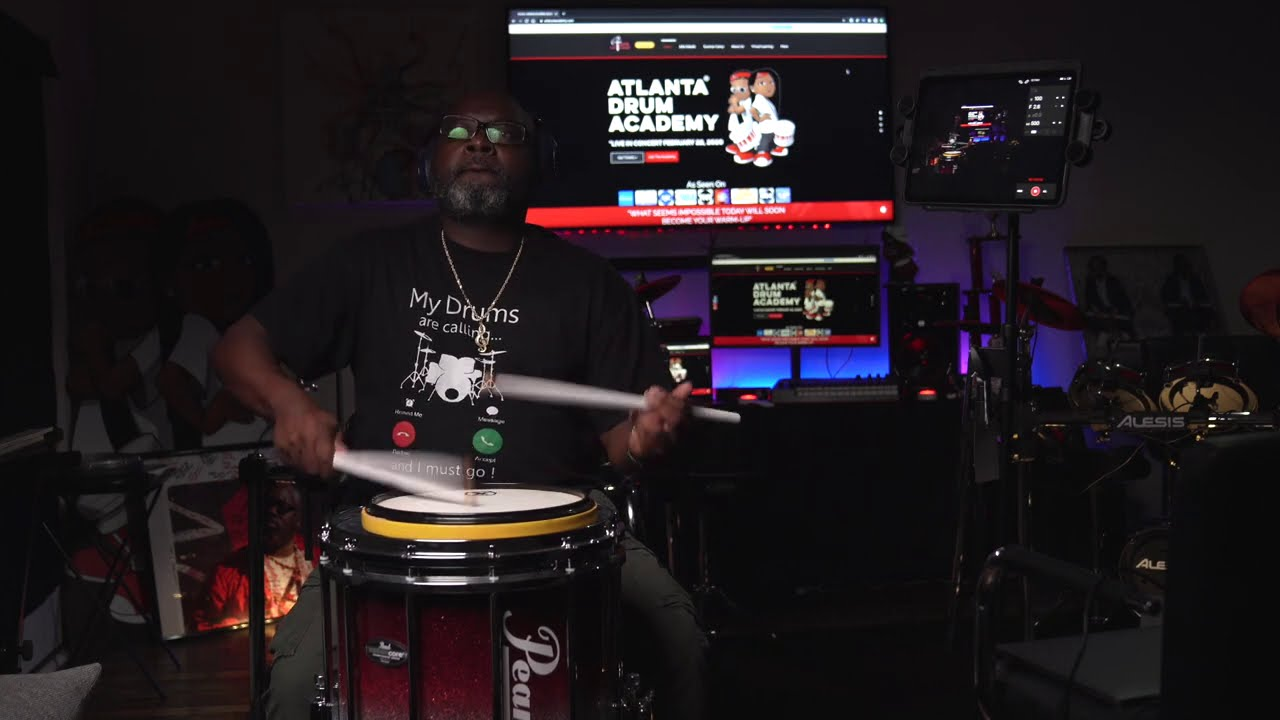 Freestyle Snare Drum Solo With ATL DRUM ACADEMY
