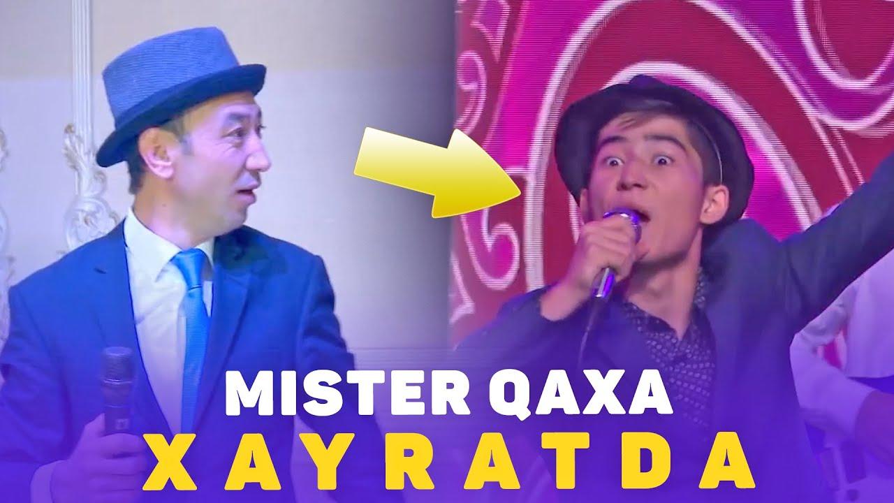 Mister Qaxa Xayratda (Parodiya)