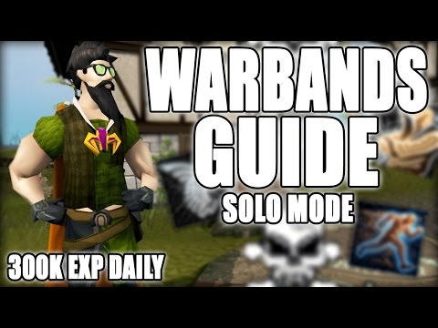 In-Depth WARBANDS Solo Guide! - Free 300k EXP/Day | RuneScape 3