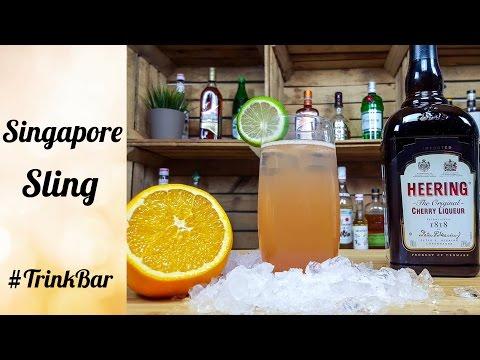 Singapore Sling - Cocktail - Rezept - Trinkbar
